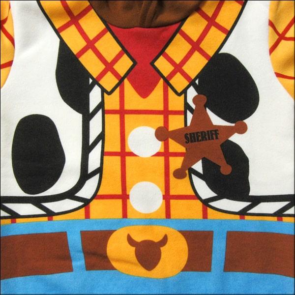ウッディ 長袖 裏起毛 パーカー 110cm 120cm 130cm 42ウッディ 332109124 332104056 Disney Pixar ディズニーピクサー トイストーリー