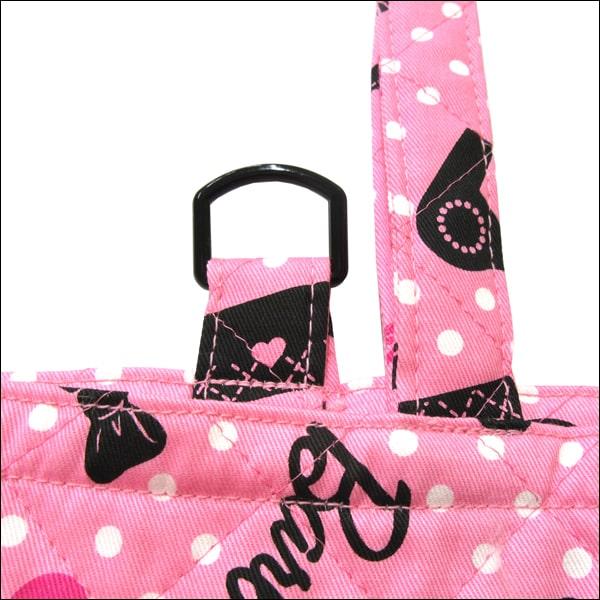 バービー キルトシューズバッグ 日本製 ピンク QBB-1500 b0294