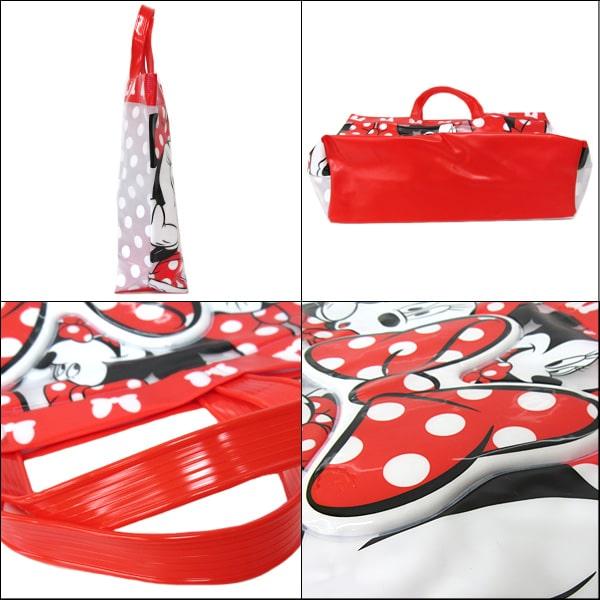 女の子 ミニー トート型 プールバッグ 1200レッド 363102044 b0336 Disney ディズニー