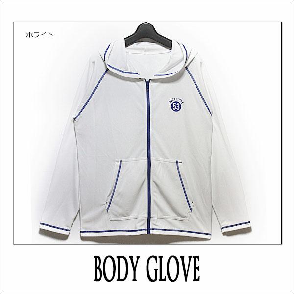 ラッシュガード メンズ 長袖 5303-407 BODY GLOVE フルジップ  ブルー ブラック ホワイト