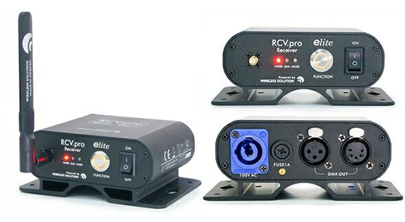 e-lite イーライト Wireless DMX TCV.pro RCV.pro レシーバー トランスミッター 販売 価格