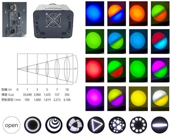 e-lite イーライトLSC-100 LEDミラースキャナー ミラースキャン 舞台照明 LED 演出証明 劇場 舞台 販売 価格