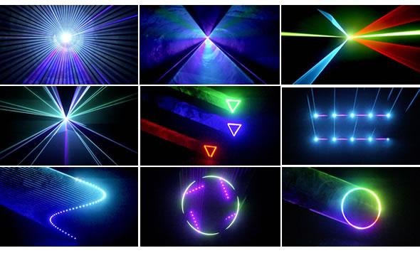 e-lite イーライト FJUNO RGB 3000 LASER レーザー ILDA LED  DMX 演出 レンタル 安い 舞台照明 演出照明 音響機器 PA機器 販売 価格