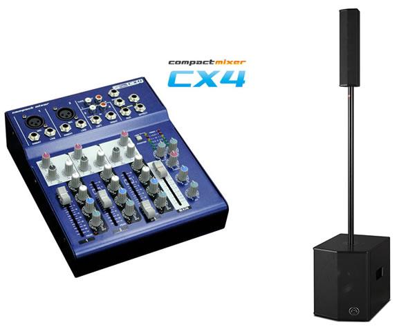 WHARFEDALE PRO  NEU PAシステム ISOLINE410 CX4 PAセット PA 販売 価格