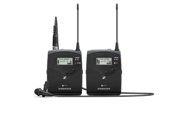ポータブルラベリアマイクセット ゼンハイザー EW 112P G4-JB EW 122P G4-JB EM 100 受信機 SK 100 送信機 ワイヤレスマイク ボーカル 楽器 収録SENNHEISER マイク
