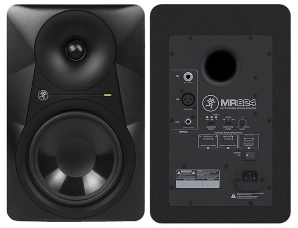 MACKIE マッキー MR524 MR624 MR824 MRS10 パワード サブウーファー スタジオモニター レコーディング PA DTM DAW 販売 価格