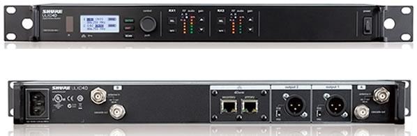 SHURE シュア ULXD4∂ ULX-Dデジタルワイヤレスシステム ワイヤレス受信機 ワイヤレスレシーバー 音響機器