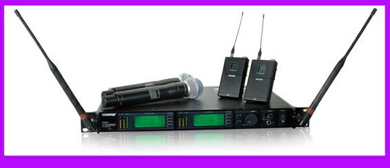 SHURE MW4D+ 受信機 シュアー 価格