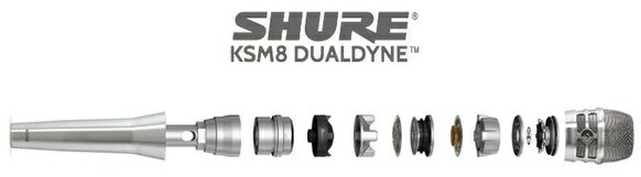 SHURE KSM8 価格 マイク