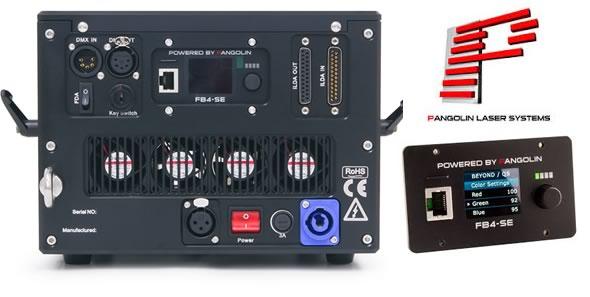 ABLE LASER レーザー 演出照明 FB-4 PANGOLIN BEYOND ハイスペック ILDAレーザー 販売 レンタル