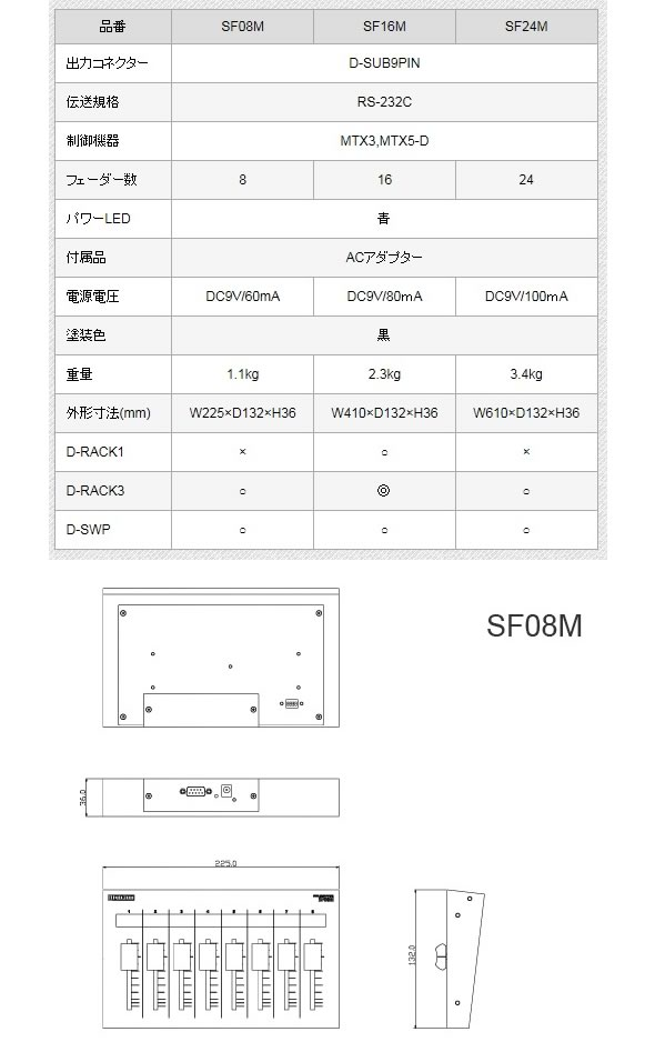 digicom SF08M デジコム MIDI 価格