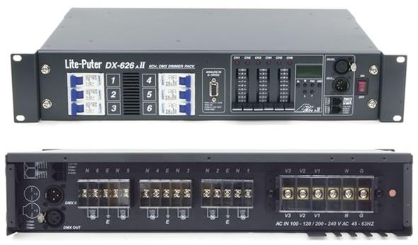 DX-626AII ディマー 調光器 20A 照明機器 舞台照明 販売 価格