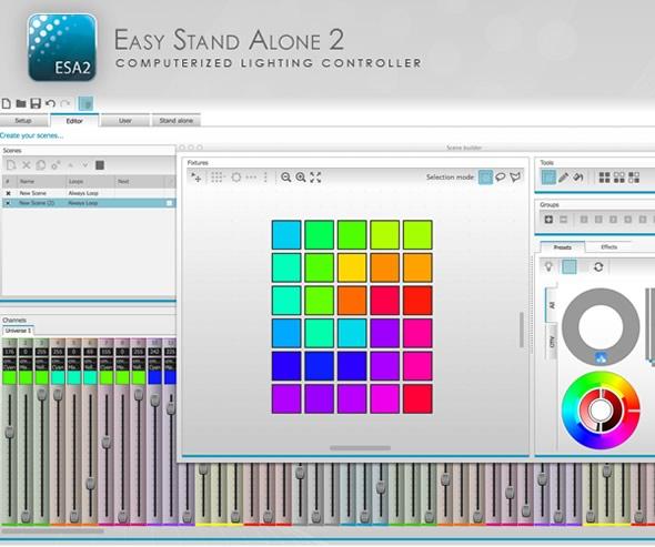 SUNLITE ESA2 FOR MAC DMXソフトウェア