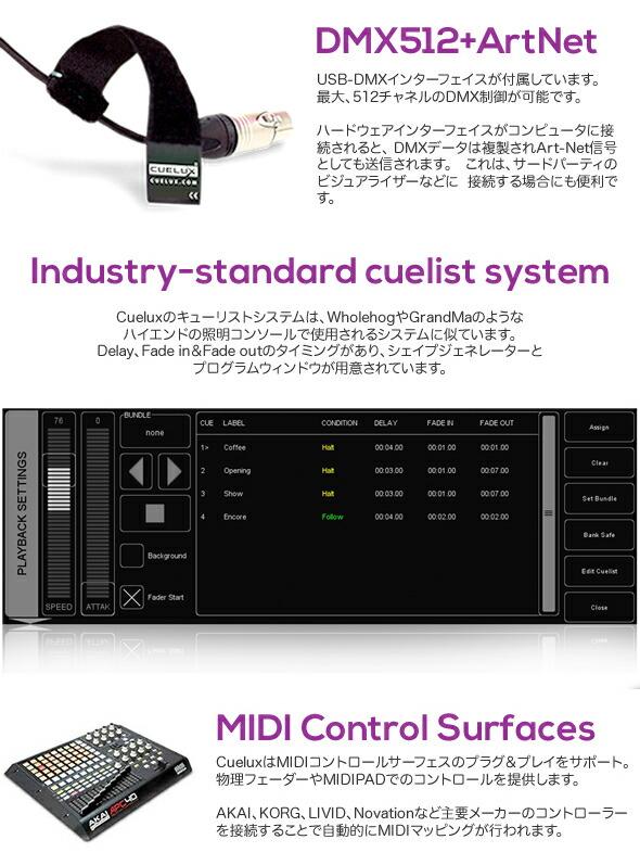VISUAL PRODUCTION TIMECORE MTC CUELUX 価格 販売 代理店