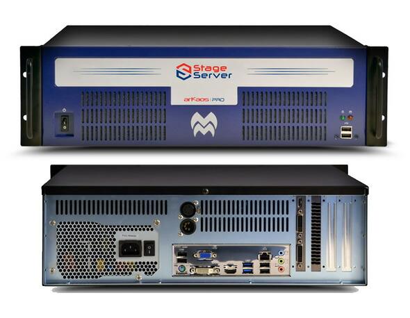 arkaos アルカオス MediaMaster LEDマッピング  LED Mapper Kling-Net 販売 価格 Stage Server メディアサーバー