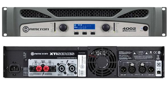 アムクロン パワーアンプ AMCRON XTI4002 XTI2002 XTI1002