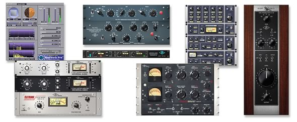 UAD-2 UAD-2 SATELLITE THUNDERBOLT QUAD CORE UNIVERSAL AUDIO ユニバーサルオーディオ DSPプラグイン PA レコーディング THUNDERBOLT