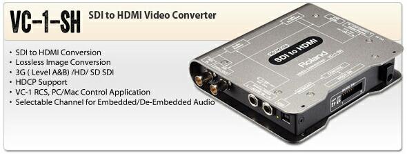 ROLAND VC-1-SH HDMIコンバーター 販売 価格