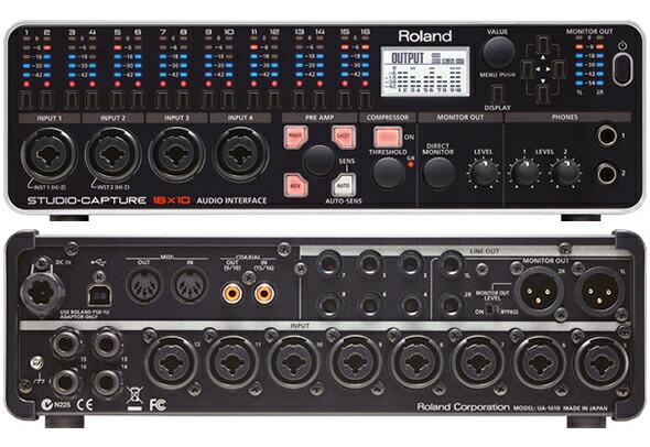 Roland ローランド STUDIO-CAPTURE USBオーディオ・インターフェース 販売 価格