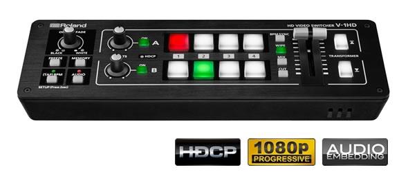 ROLAND V-1HD 価格 HDビデオスイッチャー VJ 映像制作