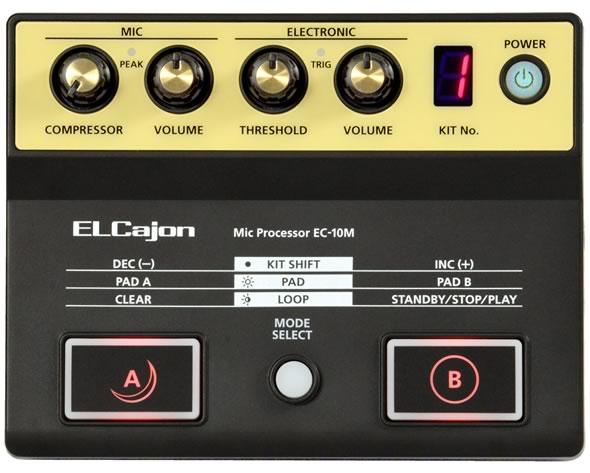 ROLAND カホン専用マイク・プロセッサー EC-10M カホン 販売 価格