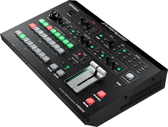 ROLAND V-600UHD オールインワン HD AVミキサー ビデオ・スイッチャ デジタル・オーディオ・ミキサ タッチ・モニター USBビデオ・キャプチャー・ボックス 価格 販売