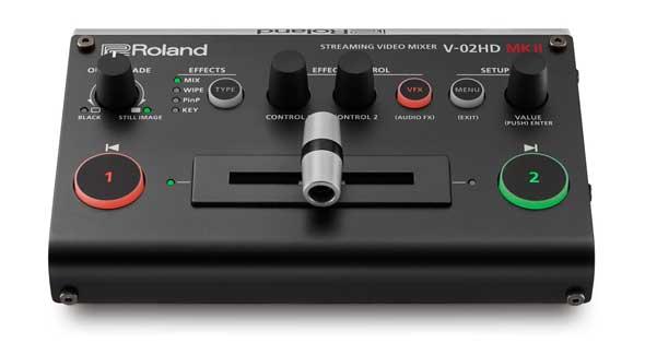 ROLAND V-02HD MKII 価格 HDビデオスイッチャー 世界最小 コンパクト VJ 映像制作