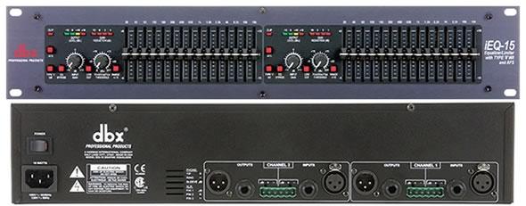 DBX EQ IEQ15 PA 音響