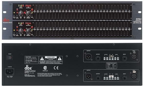 DBX 2231 EQ PA
