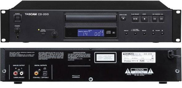 タスカム CDプレーヤー  価格 TASCAM CD-200
