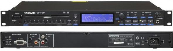タスカム TASCAM CD500 CDプレーヤー