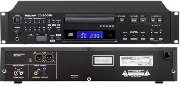 タスカム CDプレーヤー TASCAM CD200SB