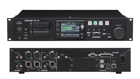 TASCAM タスカム HS-20 FTPクライアント ットワーク オーディオレコーダー プレーヤー販売 価格