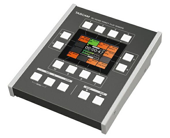TASCAM RC-SS150 リモートコントロールユニット SS-CDR250N SS-R250N ソリッドステート CD ステレオ オーディオレコーダー 販売 価格 音響機器 舞台照明