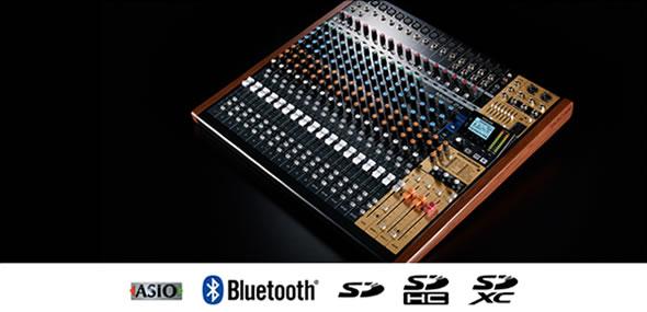 タスカム TASCAM  ミキサー 24トラックレコーディングミキサー Model 24 販売 価格 PA機器 音響機器 舞台照明