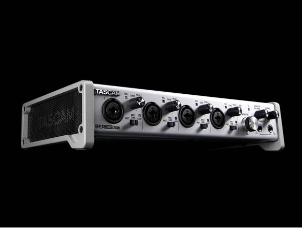 TASCAM SERIES 208i SERIES 102i  価格 販売 オーディオインターフェース  録音 価格 販売