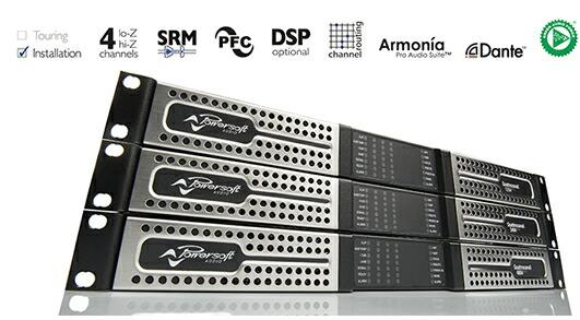 POWERSOFT パワーアンプ Quattrocanali1204 音響 価格 販売