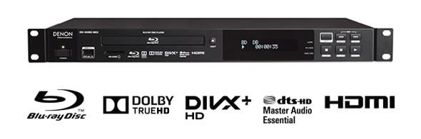 DENON DN-500BD MKII 業務用Blu-ray(ブルーレイ)プレーヤー DVD CD USB DVD+RW 音声ファイル  denon デノン 販売 価格