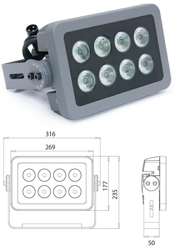 EK ARK LIGHTING CHROMA PAD Q08 演出照明 舞台照明 LED DMX