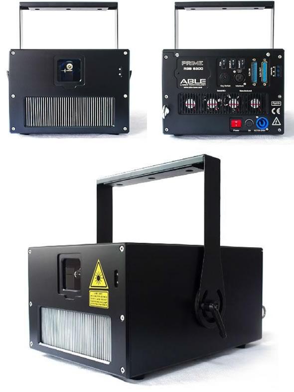 ABLE LASER レーザーPRIME RGB 3500 演出照明 ハイスペック ILDAレーザー 販売 レンタル