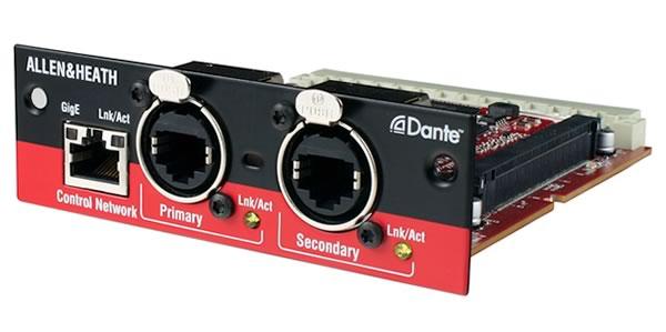 ALLEN&HEATH M-DANTE Audio Interface Card 販売 価格