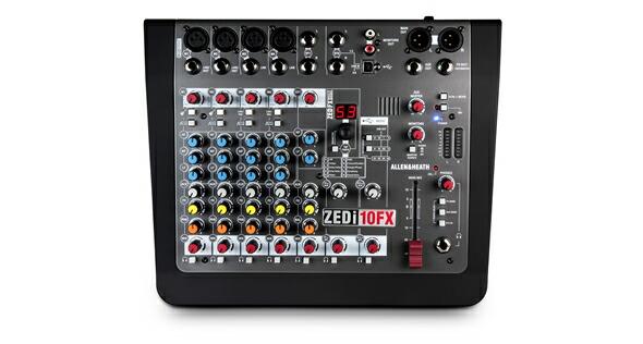 ALLEN&HEATH ZEDi-10FX USBインターフェイス アレンアンドヒース アナログミキサー 販売 価格