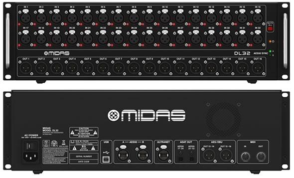 MIDAS マイダス DL32 ステージボックス  PAミキサー デジタルミキサー 特価 販売