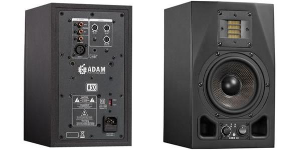 ADAM AUDIO アダムオーディオ A5X スタジオモニター アクティブモニタースピーカー DAW DTM 音響機器 舞台照明
