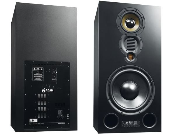 ADAM AUDIO アダムオーディオ S5X-V スタジオモニター アクティブモニタースピーカー レコーディング DAW DTM 音響機器 舞台照明