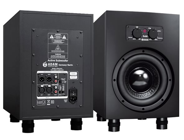 ADAM AUDIO アダムオーディオ Sub7 スタジオモニター アクティブサブウーファー DTM DAW 音響機器 舞台照明