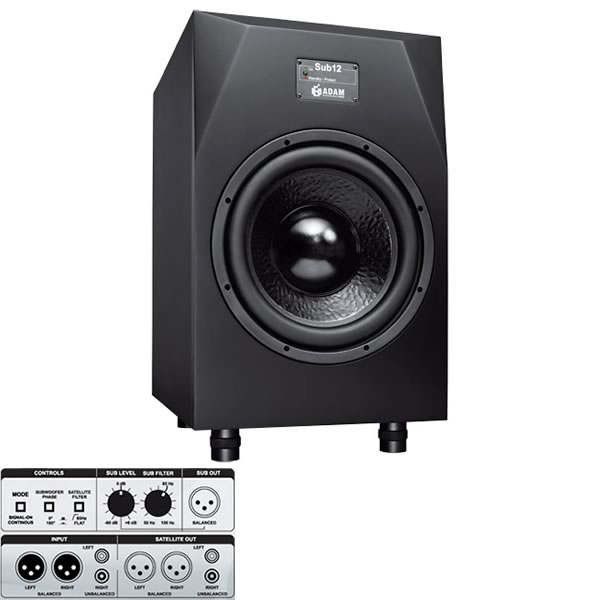ADAM AUDIO アダムオーディオ Sub10MK2 スタジオモニター アクティブサブウーファー DTM DAW 音響機器 舞台照明