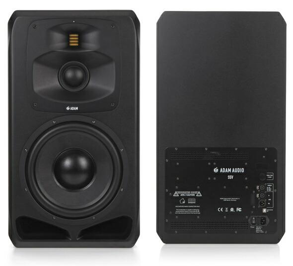 ADAM AUDIO アダムオーディオ S2V S3H S3V S5H S5V スタジオモニター アクティブモニタースピーカー DAW DTM 音響機器 舞台照明