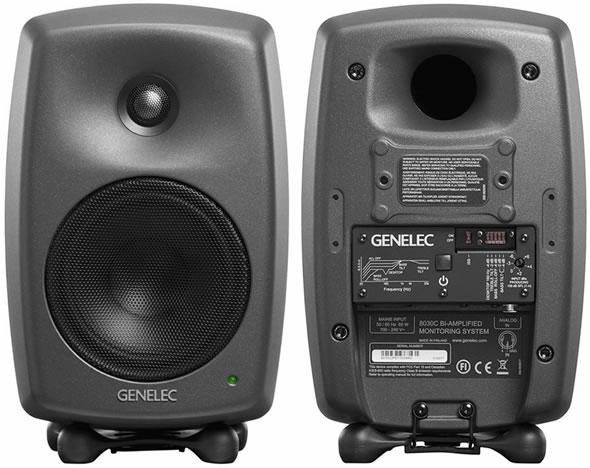 GENELEC ジェネレック 8030DPM スタジオモニター コンパクト マットブラック モニタースピーカー DTM 宅録 販売 価格 音響機器 舞台照明
