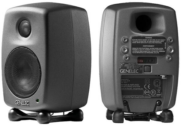GENELEC モニタースピーカー 8010A ダークグレー 販売 価格